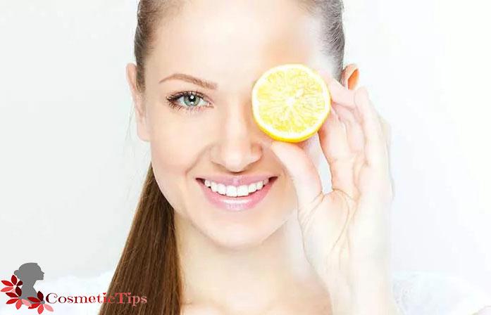 میوه لیمو برای درخشان شدن پوست