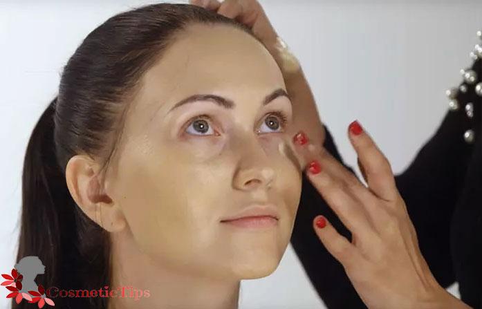 زیر سازی برای آرایش حرفه ای صورت