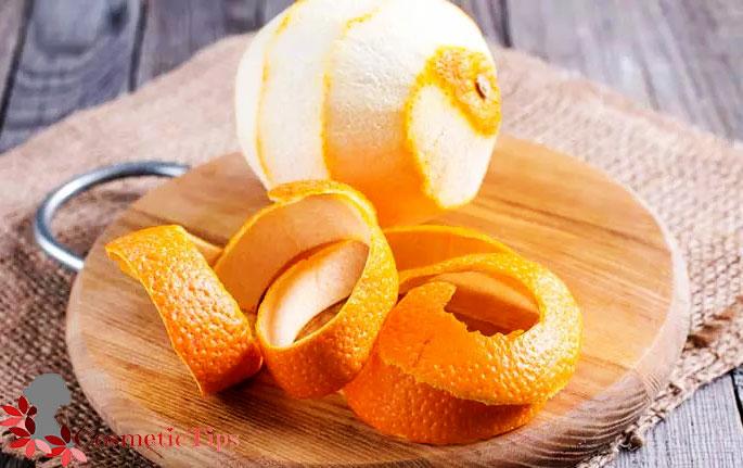 پوست پرتغال برای سفید کردن خانگی دندان ها