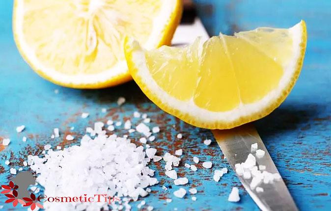 ترکیب نمک و لیمو برای سفید کردن خانگی دندان ها